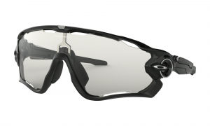 Oakley Jawbreaker Black/Clear to Black Photochromic Road pyöräilylasit