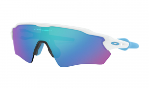 Oakley Radar EV XS Path Polished White/Sapphire Iridium pyöräilylasit