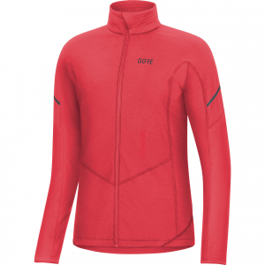 Gore women thermo long sleeve zip shirt - ajopaita